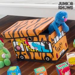 Складная Коробка для Игрушек Bus