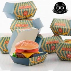Набор Коробочек для Гамбургеров (8шт)
