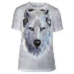 Tri-Blend T-särk White Wolf DJ