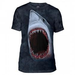 Tri-Blend T-särk Shark Bite
