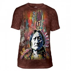 Tri-Blend T-särk Sitting Bull