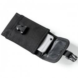 Сумка на ремень для телефона (чёрная)