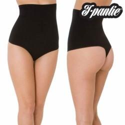 Figuuri korrigeerivad püksid Tpantie, mustad