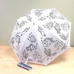 Детский Зонтик-Раскраска