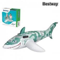 Täispuhutav Madrats Camo Shark
