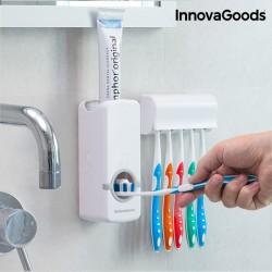 Дозатор Зубной Пасты с Подставкой для Щёток