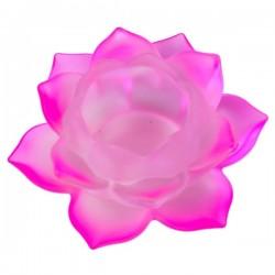 Стеклянный Подсвечник Розовый Лотос