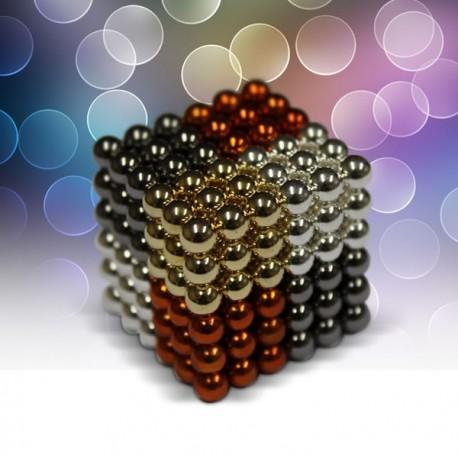Magneetiline kuubik, värviline
