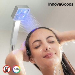 Квадратный душ с LED-подсветкой
