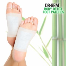 Dr Gem Detox Foot Patches Jalaplaastrid