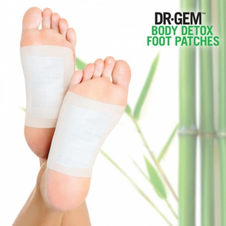Dr Gem Detox Foot Patches Jalaplaastrid