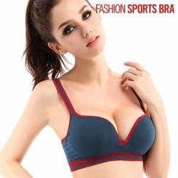 Спортивный Бюстгальтер Fashion Sports Bra, синий
