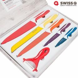 Набор Ножей с Керамическим Покрытием Swiss Q (6 предметов)