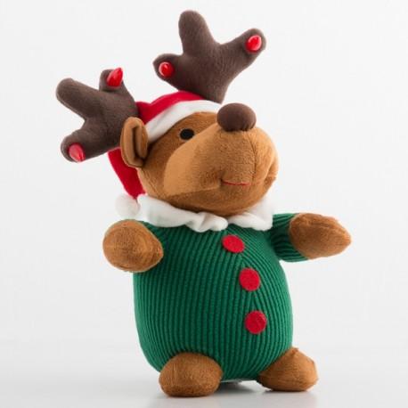 Laulev Pehme Jõululoomake Tulede ja Liikumisega (Koerake)