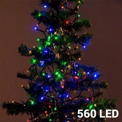 Värvilised Jõulutuled (560 LED)