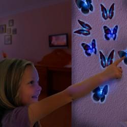 LED-Бабочка на Присоске
