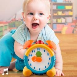 Часы для Малышей с Подсветкой и Звуками
