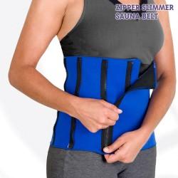 Пояс для похудения Sauna Zipper