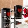 чёрная Магическая Чашка I Love YOU