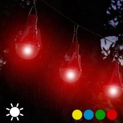 Päikesepatareiga õuevalgusti Lambipirn (pakis 4 pirni)