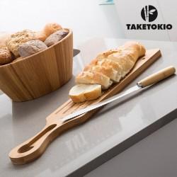 Bambusest Lõikelaud Ja Nuga Take Tokio