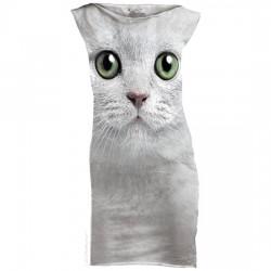 платье с 3D рисунком Кошечка
