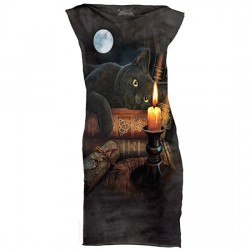 платье с 3D рисунком Witching Hour