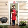 Magnetiga sääsekardin uksele