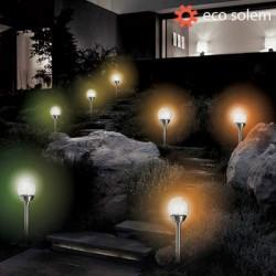 Eco Solem Päikesepatareiga Valgusti