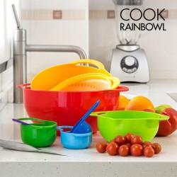 8 in 1 Kööginõude komplekt Cook Rainbowl