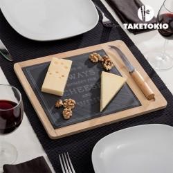 Бамбуковая Доска для сыра с ножом