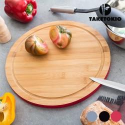 Круглая Кухонная Доска из Бамбука TakeTokio