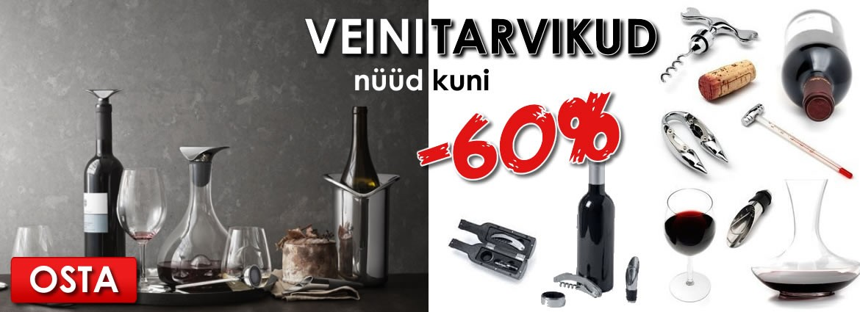 Veinitarvikud kuni -60%